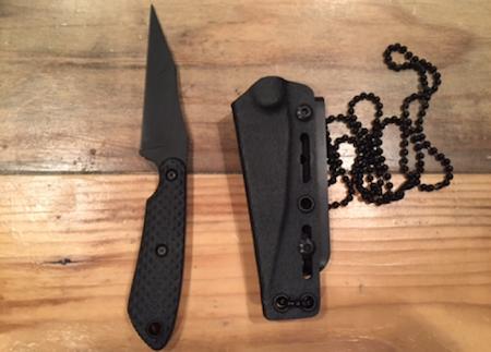 Jason's neck knife